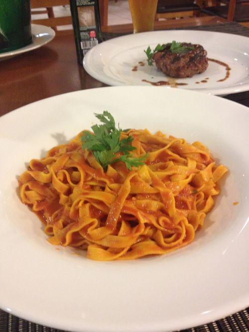 pasta yummy feast