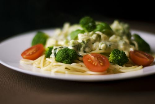 pasta meal cuisine