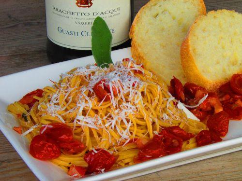 italian food tomatoes dinner