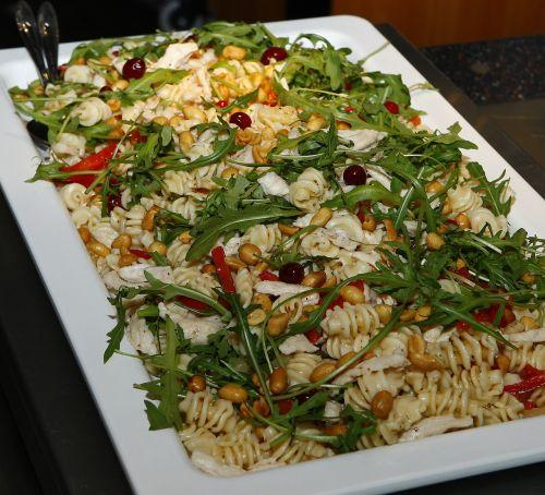 pasta salad pasta refreshments