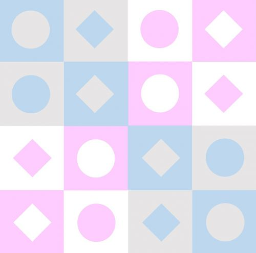 pastel shapes baby