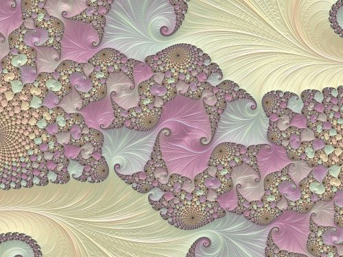 pastels cream abstract