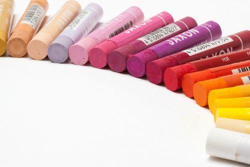 pastels oil pastels colorful