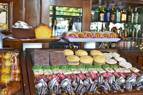 pastries sweet desert