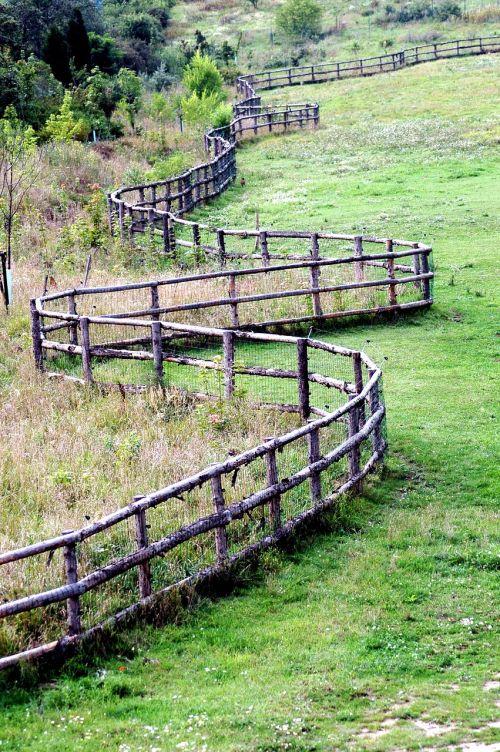 pasture range fencing