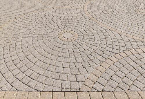 patch  paving stones  circle
