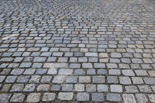 patch  cobblestones  flooring