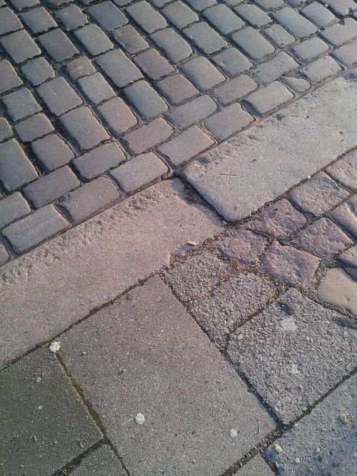 patch road paving stones