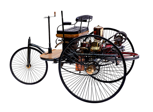 patent motor car benz and co in mannheim 1886