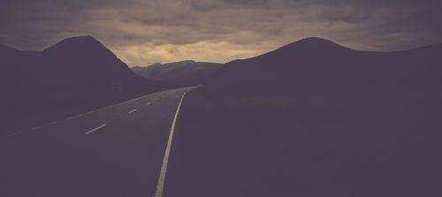 path scotland mountains