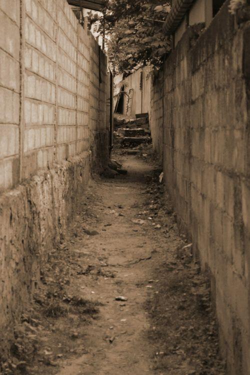 path way alley