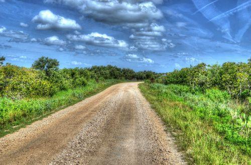 path road travel