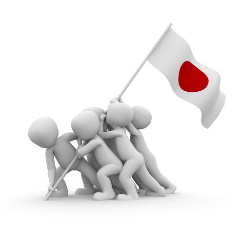patriotas,vėliava,pasididžiavimas,patriotizmas,Japonija