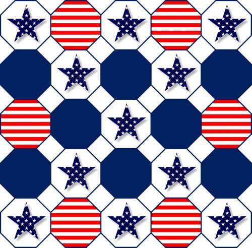 patriotic symbolic red