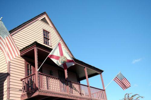 patriotic flags american