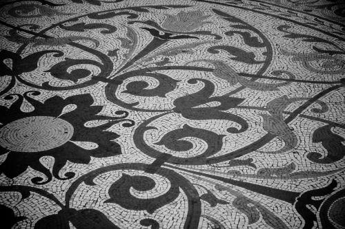 pattern floor tile