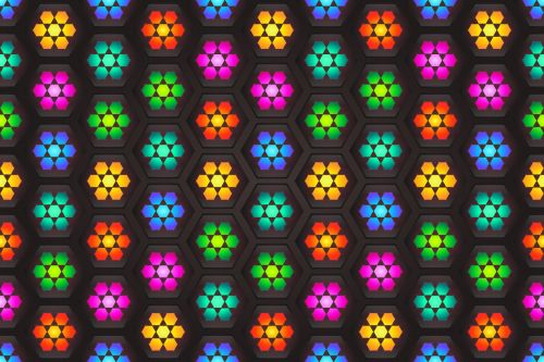 pattern background colorful