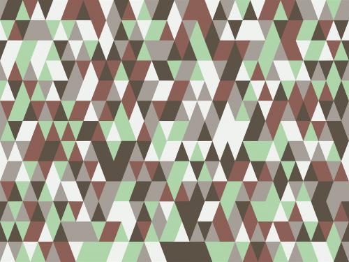 pattern triangles random
