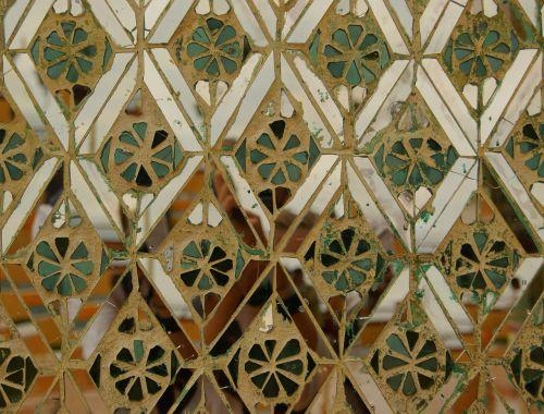 pattern kaleidoscope mirror
