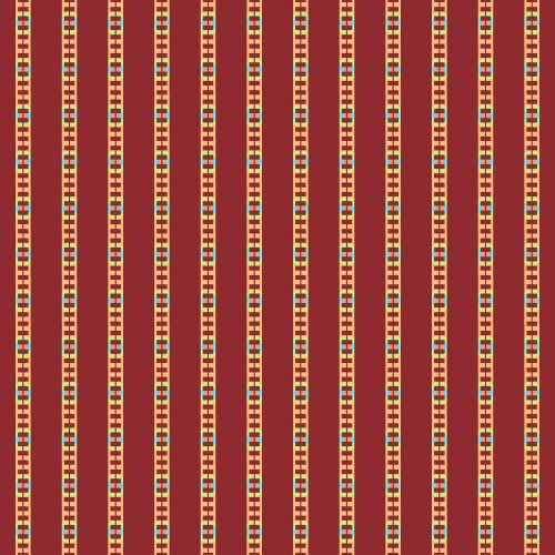 pattern background red