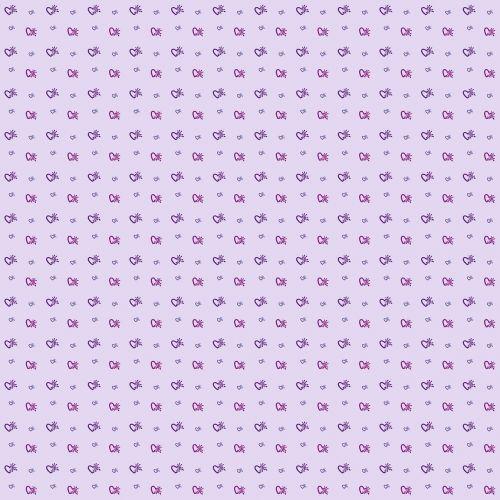 pattern heart pink