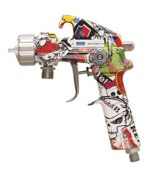pattern patterned spray gun