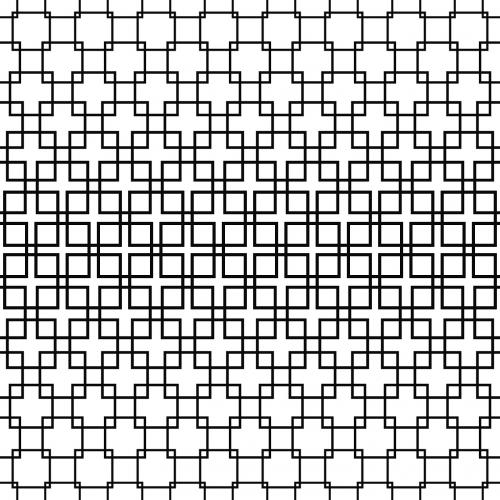 pattern black halftone