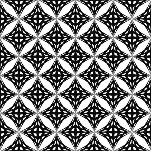 pattern monochrome geometric