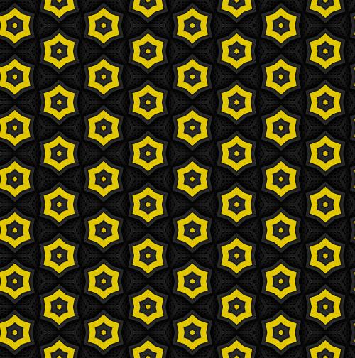 pattern metal hexagon