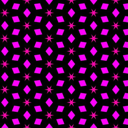 pattern stars squares