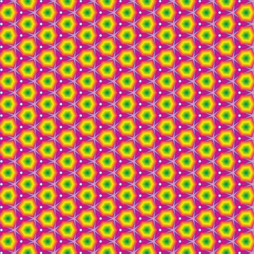 pattern bright colors