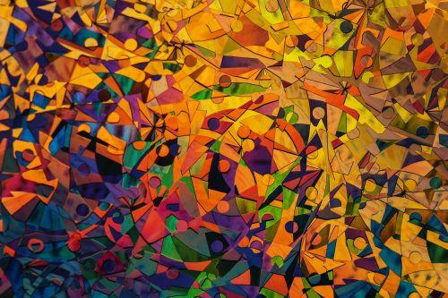 pattern abstract art