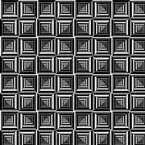 pattern  op art  black