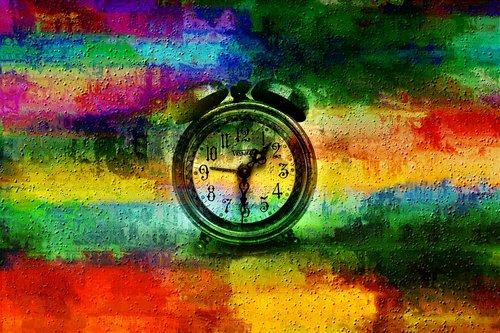 pattern  texture  clock