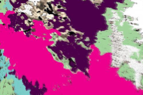 Pattern Camouflage Pastel Digital