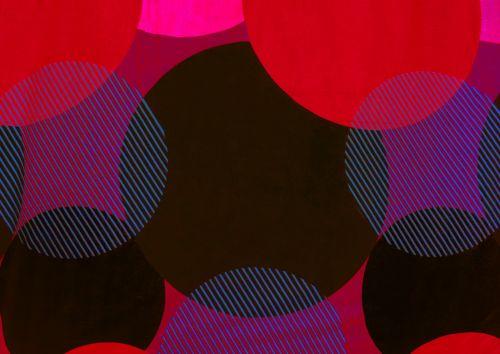 ratas, spalva, geometrinis, modelis, geometrinis, modelio apskritimai