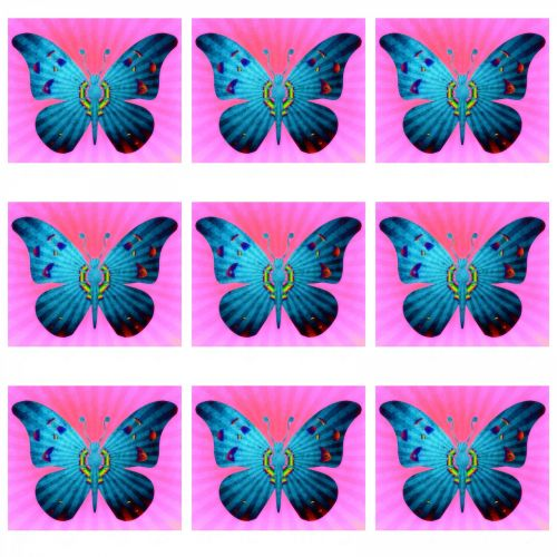 Pattern With Butterfly's