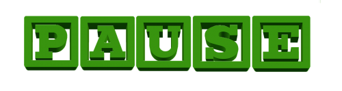 pause banner icon