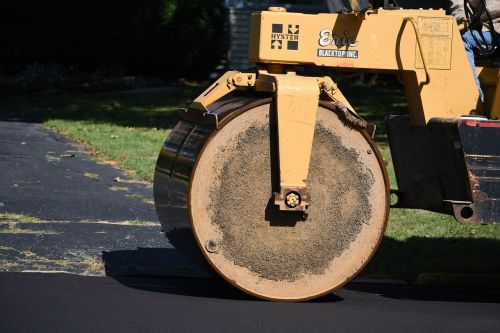 pave roller road