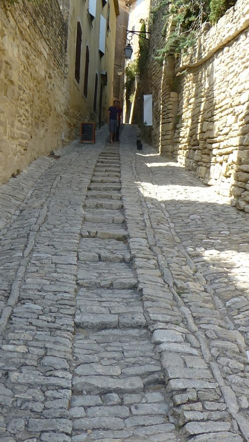 paved street provence south