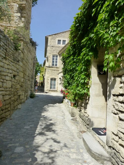 paved street south france