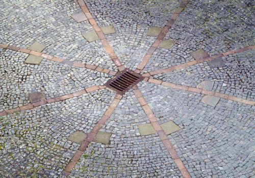 pavement sewage sewerage