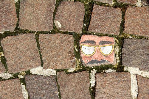 pavement paving stone painting
