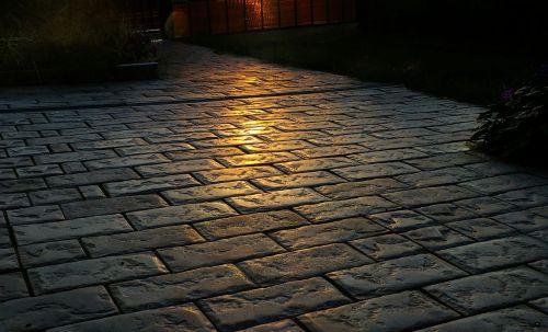 pavement cobblestone brick