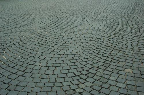 pavement cobble soil