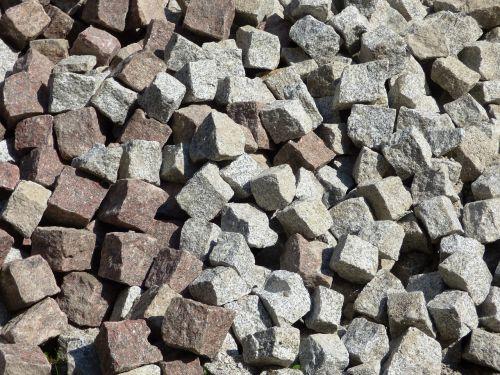 pavement the stones heap