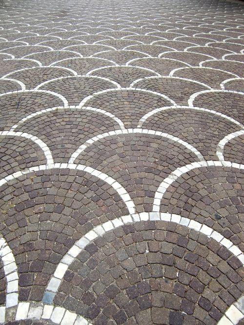 pavement surface paving stones texture