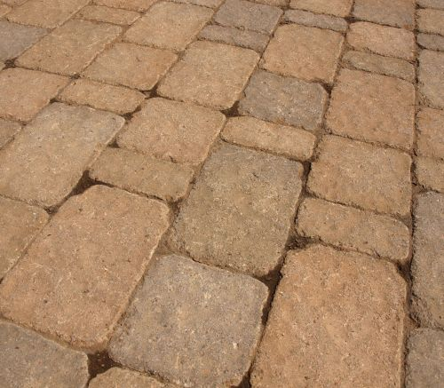 Paver Stones Pattern Background
