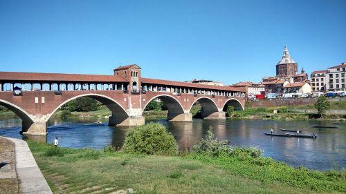 pavia bridge ticino
