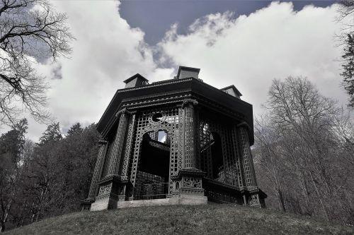pavilion music pavilion schloß linderhof